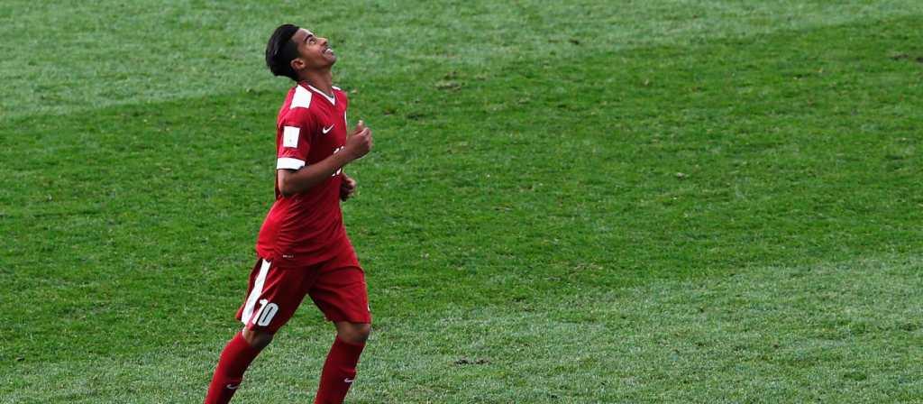 Akram Afif, Qatar, l'éclosion  finale ? (photo fifa.com)