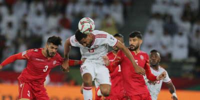 Accrochés par Bahrein, les Emirats arabes unis ont raté leur entrée dans Leur Coupe d'Asie des nations ( Photo afc.com)