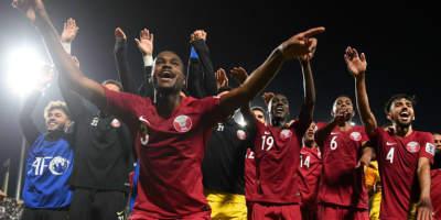 Une sixième victoire  du Qatar l'enverrait en finale de la Coupe d'Asie des nations . Une première dans son histoire (photo afc.com)