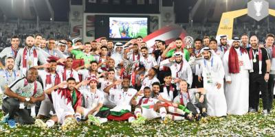 Le Qatar fêtant son premier titre continental (photo afc.com)