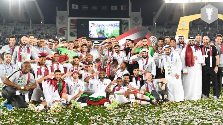 Le Qatar fête son premier titre continental (photo afc.com)