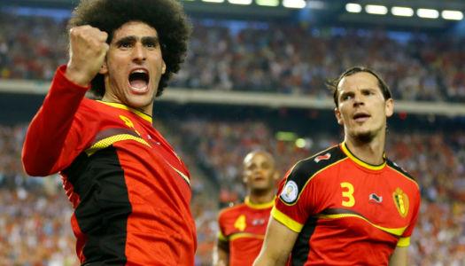 Belgique: Fellaini s'en va, Hazard le regrette