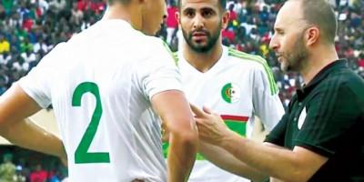 Djamel Belmadi - Riyad Mahrez