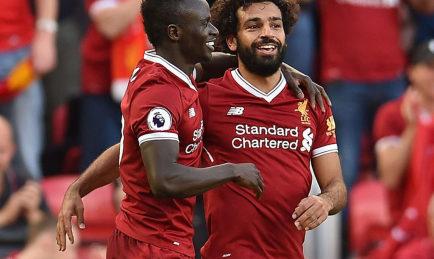Mohamed Salah finira certainement meilleur buteur des Reds devant son coéquipier Sadio Mané