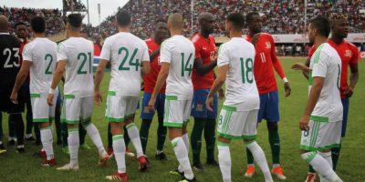 Algérie Gambie (1-1), photo lagazettedufennec.com