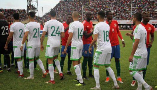 Algérie-Gambie (1-1) : Belmadi n'est pas déçu