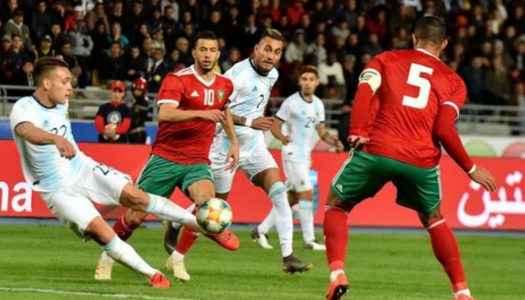 Amicaux : Maroc, Egypte, Tunisie au tapis