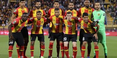 L'ES Tunis, championne en titre,  sera en danger à Constantine  (photo cafonline.com )