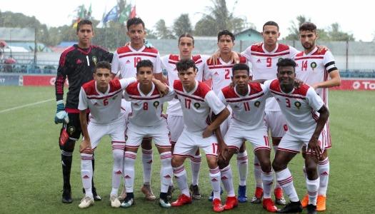CAN U17 : Le Maroc débordé par le Cameroun