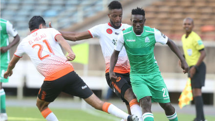 Gor Mahia  - RS Berkane (0-2, photo fédération kenyane )