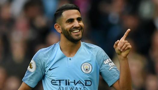 Manchester City : Riyad Mahrez  rêve d'un doublé