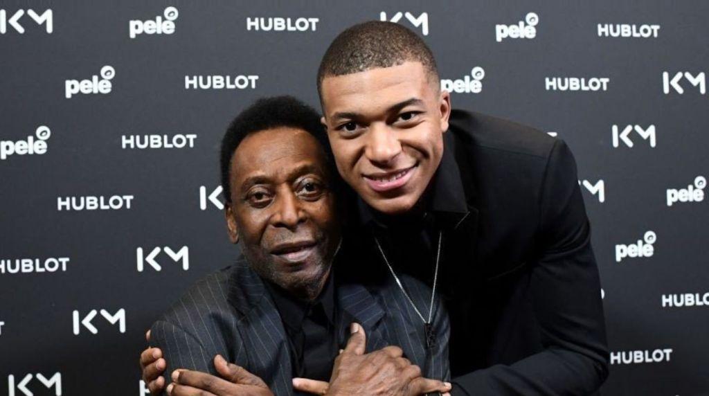 Le Roi Pelé a désigné son successeur, Kylian Mbappé