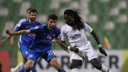 Al Hilal Riyad: le but de  Bafétimbi Gomis  n'a pas suffi (photo afc.com )