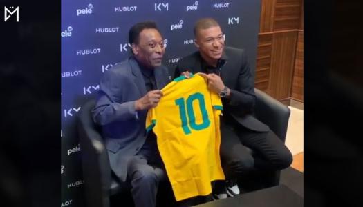 Kylian Mbappé :  les bons tuyaux du Roi Pelé