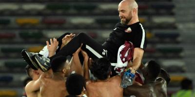 Sanchez Felix  L'Espagnol a su mener le Qatar de façon magistrale au titre de champion d'Asie 2019 (photo afc.com )