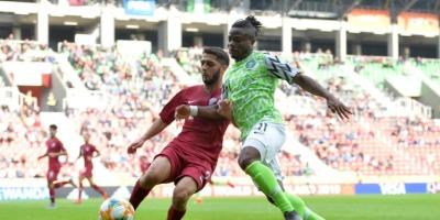 Le Qatar n'a pas fait le poids face au Nigeria (0-4), photo Fifa.com
