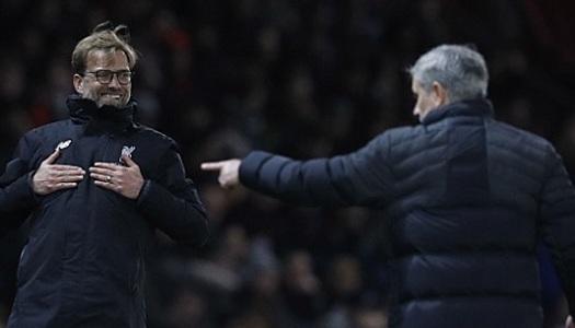 Angleterre : Mourinho tacle Klopp et Guardiola