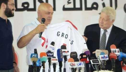Zamalek : Mortada Mansour promet de «virer» Gross