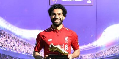 "Mohamed Salah ""Golden Booth"" en 2019"