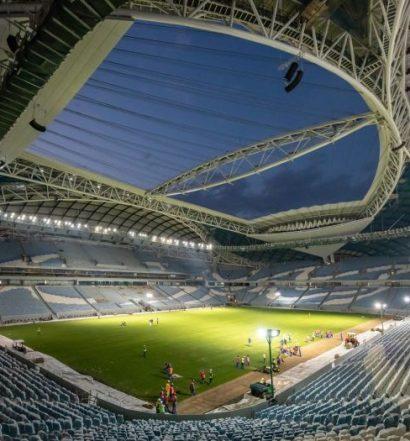 Al Wakrah Stadium, inauguré en mai 2019 (photo qfa.qa)