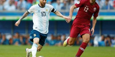 Messi  essentiel dans la victoire face au Qatar