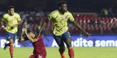 Colombie - Qatar, 1-0