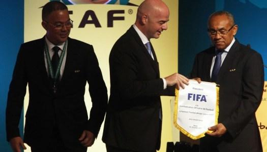 Crise à la CAF : Vigilant, Infantino n'exclut rien