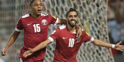 Le Qatar face au Paraguay lors de la Copa America 2019