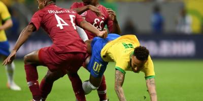 Un programme riche en 2021 pour les champions d'Asie en titre. (photo du match Brésil - Qatar, 2-0 en Copa America 2019)