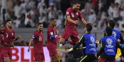 Qatar - Japon  (3-1) en finale de la Coupe d'Asie 2019 (photo fifa.com )