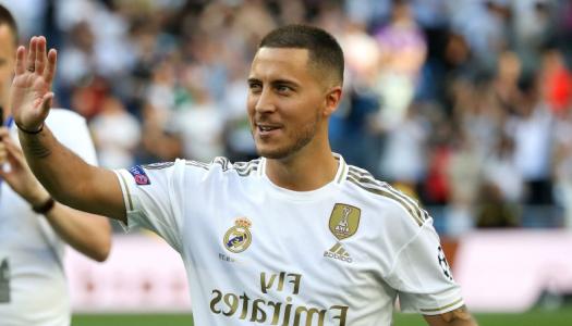Real Madrid: Eden Hazard est «juste heureux»