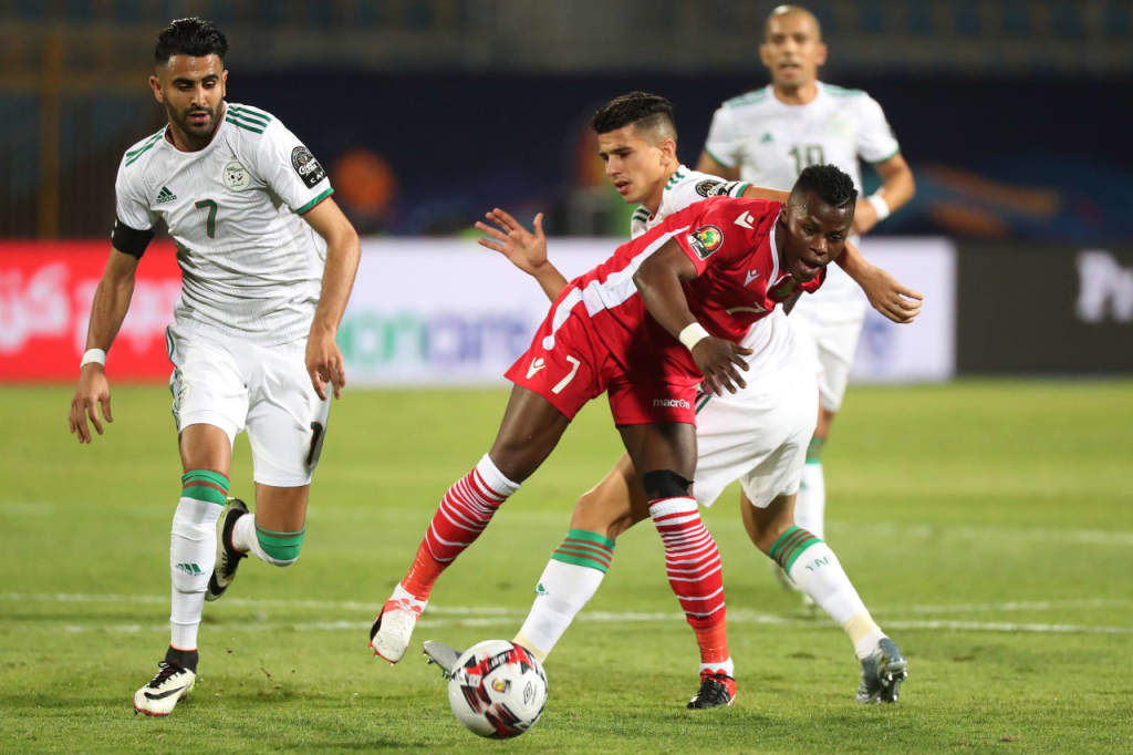 Algérie - Kenya, 2-0 (photo  cafonline.com)