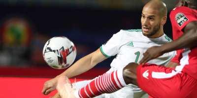Algérie - Kenya , 2-0 (phoo cafonline.com )