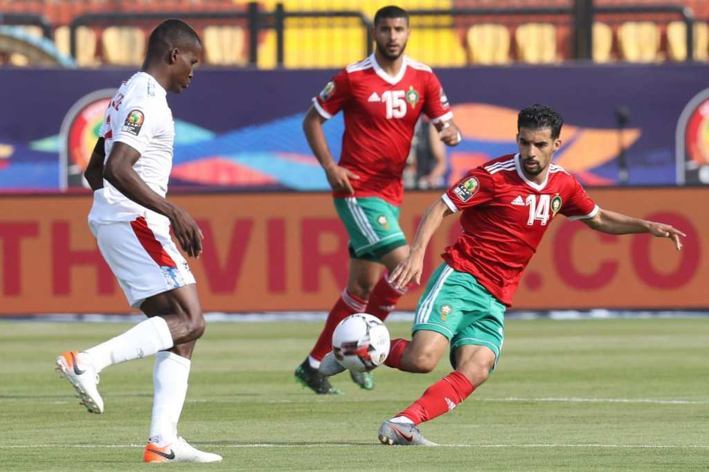 Maroc - Namibie, 1-0 (photo  cafonline.com)