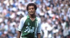 Lakhdar Belloumi, la star algérienne et africaine des années 80