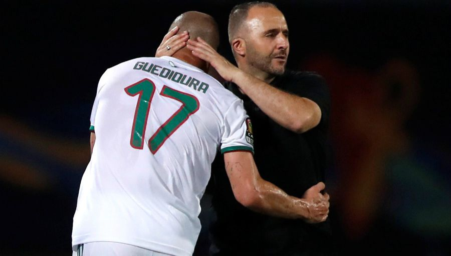 Guedioura, une des clés du succès de l'Algérie lors de la CAN 2019