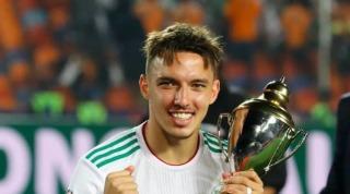 Ismaël Bennacer, élu meilleur joueur de la CAN 2019