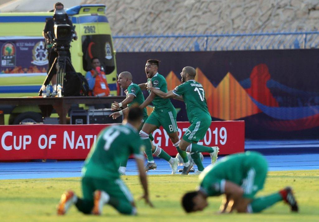L'Algérie au bout du suspens s'offre une demi-finale face au Nigeria ( photo cafonline.com)