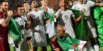 Le Qatar a surpris l'Asie,  L'Algérie a dominé l'Afrique  (photo cafonline.com)