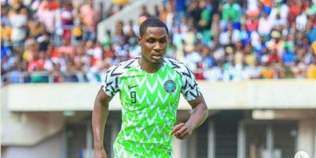 Le Nigérian Odion Ighalo, meilleur buteur des tournoi