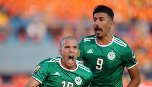 CAN 2019 (1/2):  L'Algérie avait mis le bleu de chauffe !