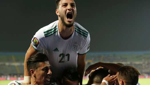 CAN 2019: L'Algérie a balayé la Guinée (3-0)