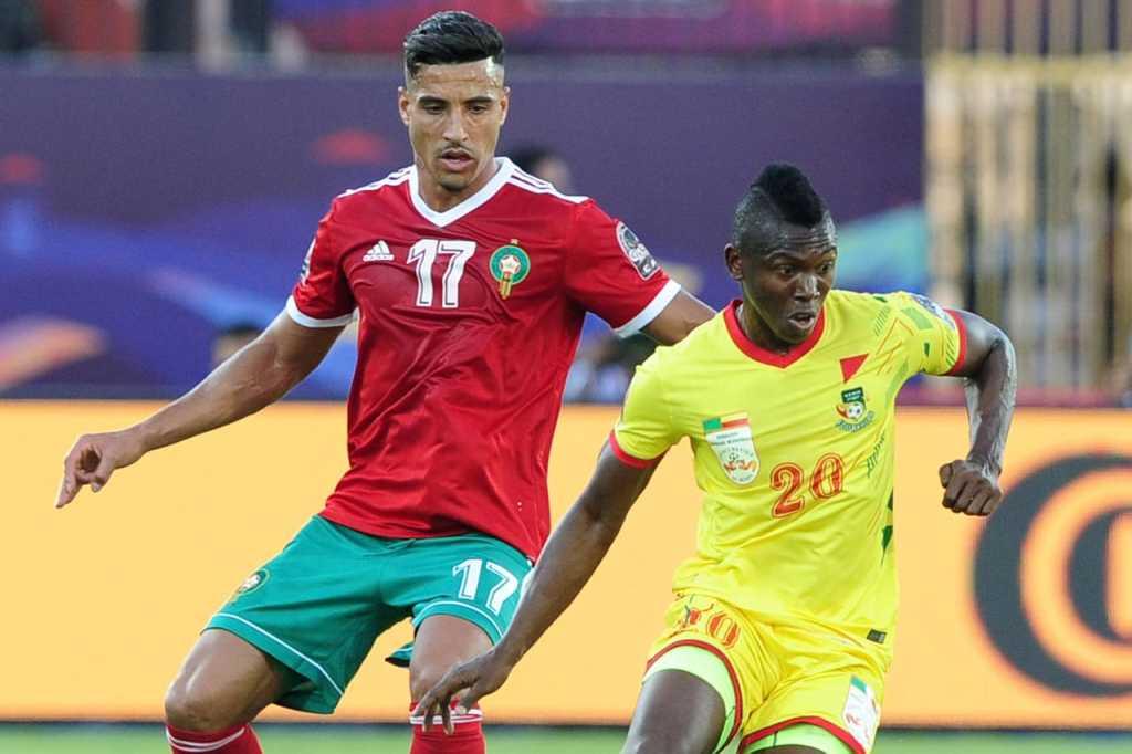 Maroc - Bénin  1-1 ( photo cafonline .com)