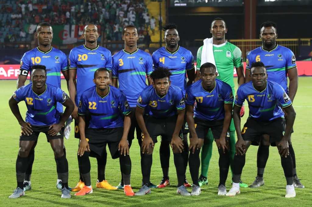 La Tanzanie s'est battue jusqu'au bout face à l'Algérie ( photo cafonline.com)