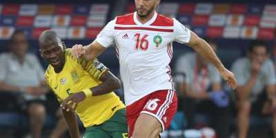 Le Maroc domine l'Afrique du Sud et remporte le groupe D (photo cafonmine.com)