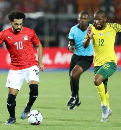 Egypte - Afrique du Sud, 0-1 ( photo cafonlineLcom)
