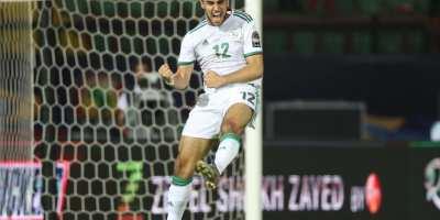 Algérie - Tanzanie, 3-0 Ounas a  été diabolique  ( photo cafonline.com)