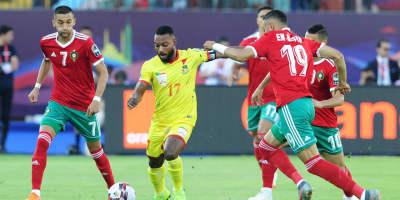 L'énorme déception marocaine face au Bénin  (photo cafonline.com)
