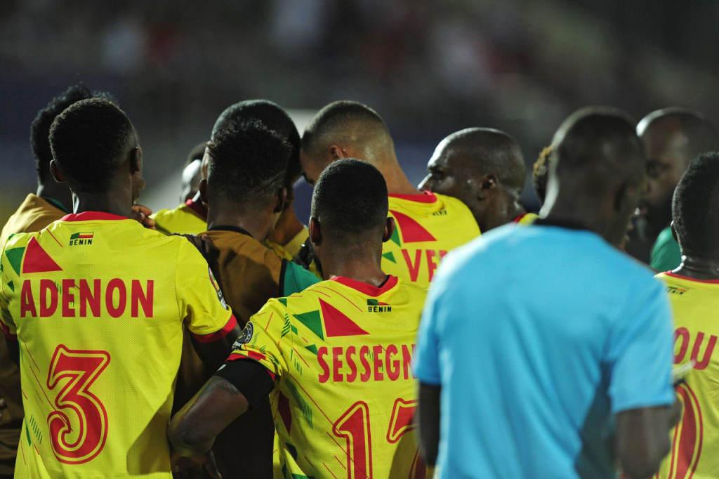 La grande joie des Béninois après leur qualification ( photo cafonline.com )