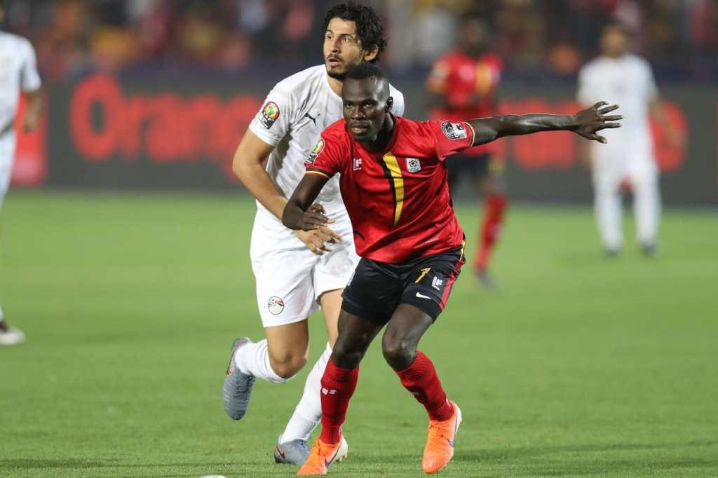 Egypte - Ouganda, 2-0) ( photo cafonline.com)